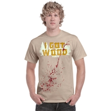 Shaun Of The Dead I Got Wood T-Shirt