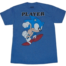 Sonic the Hedgehog Player T-Shirt