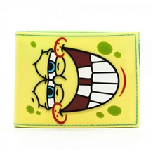Spongebob Face Bi-Fold Wallet