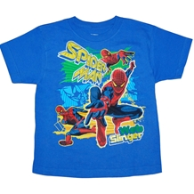 Amazing Spider-man Splash Kids Juvy T-Shirt