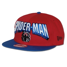 New Era Hero Block Spider-man Logo 9Fifty Snapback Hat