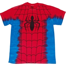 Spider-man Costume Suit Tie Dye T-Shirt