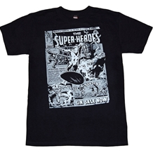 Silver Surfer Cosmic Surfer T-Shirt