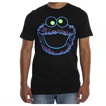Neon Cookie Monster T-Shirt