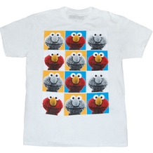 Sesame Street Elmo Pop Art T-Shirt