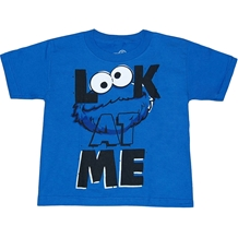 Cookie Monster Look at Me Juvenile T-Shirt