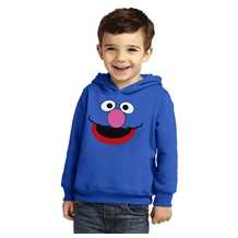 Grover Face Toddler Hoodie