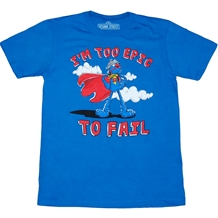 Sesame Street: Grover Too Epic To Fail T-Shirt
