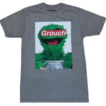 Sesame Street Grouch Label T-Shirt