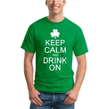 Keep Calm and Drink On St. Patrick's Day T-Shirt