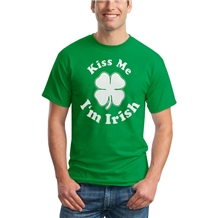 St. Patrick's Day Kiss Me I'm Irish T-shirt