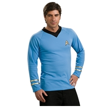Star Trek First Officer Deluxe Spock Costume Shirt