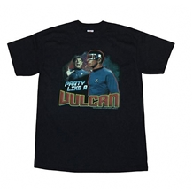 Star Trek Party Like A Vulcan Adult T-Shirt