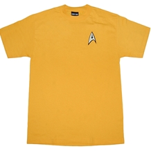 Star Trek Command Uniform Adult Tee
