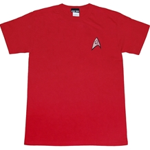 Star Trek Engineering Uniform Adult Tee