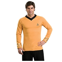 Star Trek Captain Kirk Deluxe Costume Shirt