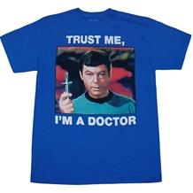 Star Trek Trust Me I'm A Doctor T-Shirt