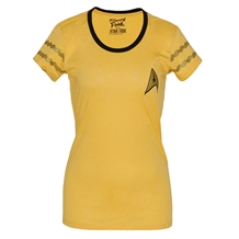 Star Trek Command Unifrom Junior T-Shirt