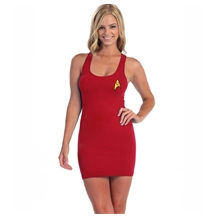 Star Trek I Am Starfleet Red Tunic Tank Dress