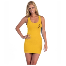 Star Trek I Am Starfleet Gold Tunic Tank Dress