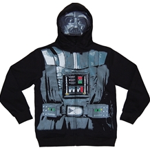 Darth Vader Masked Costume Youth Kids Hoodie