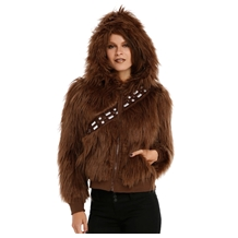 star wars i am chewbacca furry costume junior hoodie