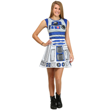 Star Wars R2D2 Meshback Costume Skater Dress