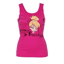 Tinkerbell Describe Junior Tank Top