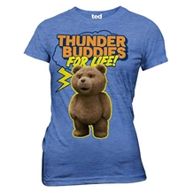 Ted Thunder Buddies Junior Ladies T-Shirt