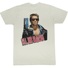 Terminator I'll Be Back Adult T-Shirt