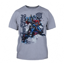 Transformers Optimus Prime Battle Hardened Youth Kids T-Shirt