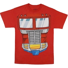 Transformers Optimus Prime Costume T-Shirt