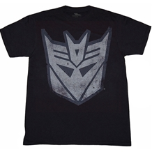 Transformers Decepticon Distressed Logo T-Shirt