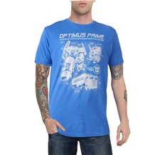 Transformers Optimus Prime Tech Specs T-Shirt