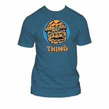 Fantastic Four Thing Circle Portrait T-Shirt
