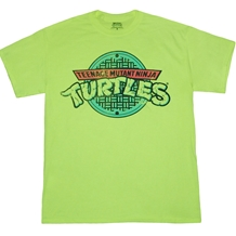 Teenage Mutant Ninja Turtles Symbol Neon T-Shirt