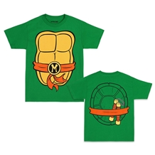 Teenage Mutant Ninja Turtles Michelangelo Costume T-Shirt