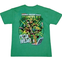Teenage Mutant Ninja Turtles Pizza Break Youth T-Shirt