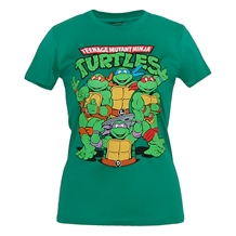 Teenage Mutant Ninja Turtles Group Junior Women's T-Shirt