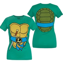 Teenage Mutant Ninja Turtles Leonardo Costume Junior T-Shirt