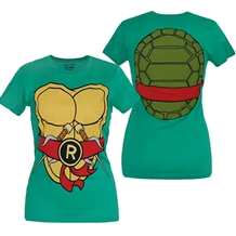 Teenage Mutant Ninja Turtles Raphael Costume Junior T-Shirt