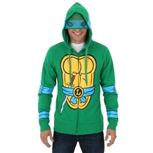 Teenage Mutant Ninja Turtles Leonardo Costume Hoodie