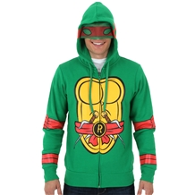Teenage Mutant Ninja Turtles Raphael Costume Hoodie