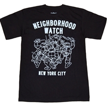 Teenage Mutant Ninja Turtles Neighborhood Watch T-Shirt