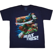 Teenage Ninja Turtles Beat This Youth T-Shirt