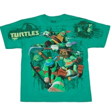 Teenage Mutant Ninja Turtles Jumbo Print Youth T-Shirt