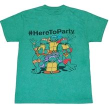Teenage Mutant Ninja Turtles # Here to Party T-Shirt