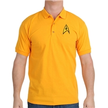 Star Trek Starfleet Command Uniform Polo Shirt