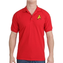Star Trek Starfleet Security Uniform Polo Shirt