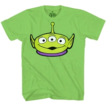 Toy Story Pizza Planet Alien Face T-Shirt